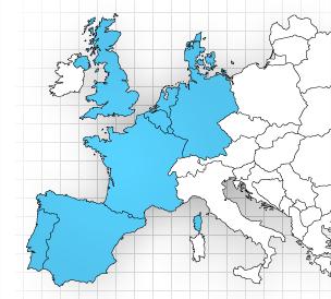 PRésence du réseau ELI en Europe